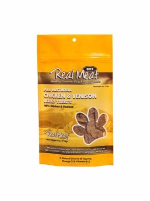 Chicken & Venison Dog Treats - 4oz