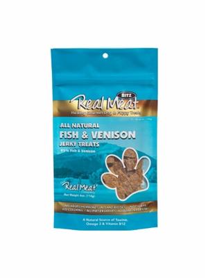 Fish & Venison Dog Treats - 4oz