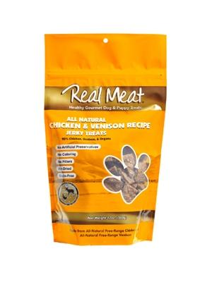 Chicken & Venison Dog Treats - 12oz