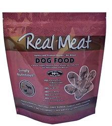 Air Dried 90% Meat Turkey & Venison Dog Food - 5lb