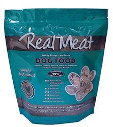 Air Dried 90% Meat Turkey Dog Food 2lb