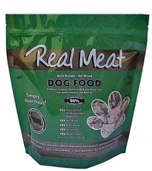 Air Dried 90% Meat Beef Dog Food - 5lbs