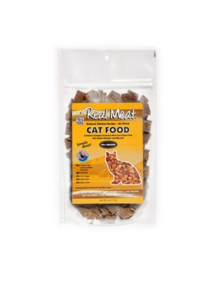 Chicken Air-Dried Cat Food Trial Size - 4oz