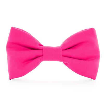 Hot Pink Dog Bow Tie