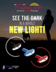 TripleLite 180 Degree LED Flashlight - Super Bright