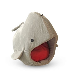 WHALE SHAPE MICRO FLEES PET BED
