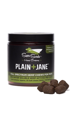 Plain+Jane 5mg Water Soluble Hemp Chews
