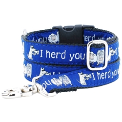 I Herd You Collars & Leads a Teddy The Dog & 2 Hounds Design Collaboration