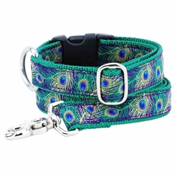 Peacock Purple Essential Collars and Leads