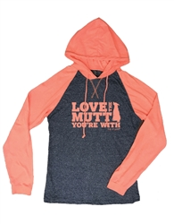 Love The Mutt Hooded T-shirt