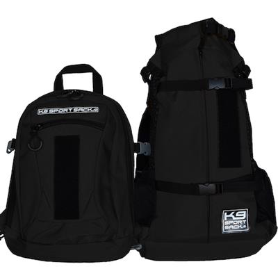 K9 SPORT SACK PLUS 2--JET BLACK