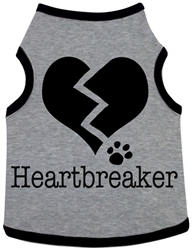 Heart Breaker - Tank - Heather Grey
