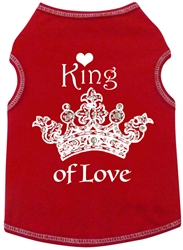 King of Love - Tank - Red