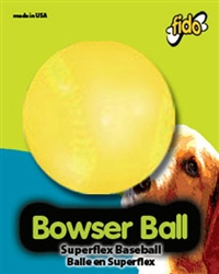 "BOWSER BALLS, 3"" Base Ball"