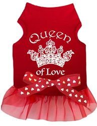 Queen of Love - Tank Dress - Red