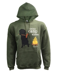 Never Camp Alone Hoodie