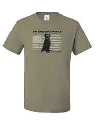 For Dog And Country Unisex T-shirt
