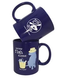 Mug, Never Fish Alone