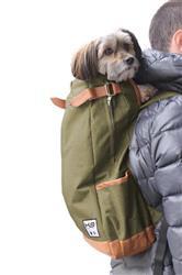 URBAN K9 SPORT SACK OLIVE GREEN FORWARD FACING BACKPACK DOG CARRIER