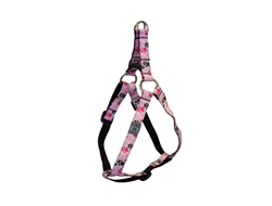 Step In Harness - Pitter Patter Pink