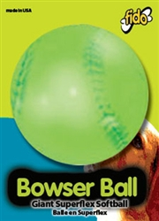 "BOWSER BALLS, 4"" Soft Ball"