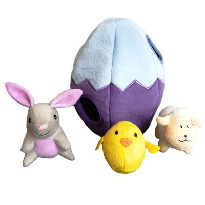 Easter Egg and Friends Burrow by Zippy Paws