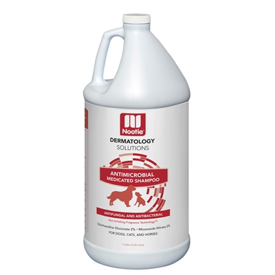 Nootie Antimicrobial Medicated Pet Shampoo - Gallon