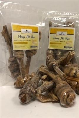 Penny Pet Pops - Buffalo Pizzle wrapped Buffalo Intestine 4 pack