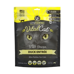 Vital Cat Freeze Dried Mini Patty Duck 8 oz.