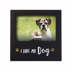 'I Love My Dog' Sentiment Frame