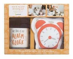 Owner/Pet Gift Set - My Dog Is My Alarm Clock