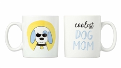 'Coolest Dog Mom' Coffee Mug Set