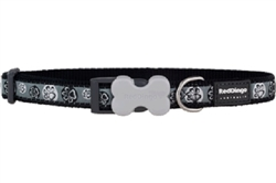 Paw Impressions Black - Dog Collar and Lead