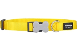 Yellow Dog Collars & Leashes
