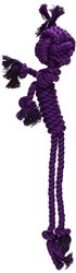 Mammoth Flossy Chews Large Rope Man Dog Toy