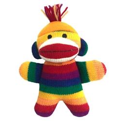 "Lulubelles Power Plush 7.5"" Freddy Baby Sock Monkey, Delivers March 2019"