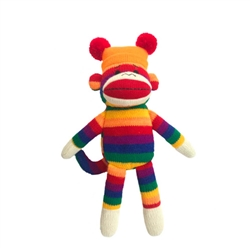 Lulubelles Power Plush 14' George Sock Monkey, Delivers March 2019