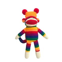 Lulubelles Power Plush 14' George Sock Monkey