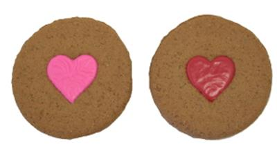 Heart Print Cookie
