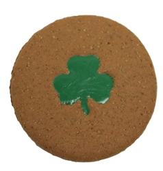 Shamrock Print Cookie