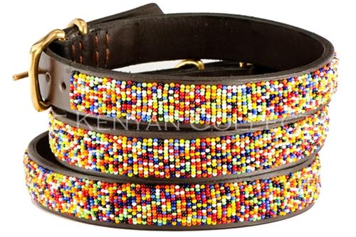 Confetti Seed Bead Collar & Leash Collection