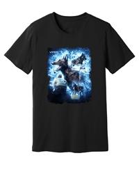 Viper - Ringsport - Electric Blue - Black Shirt - Design 45