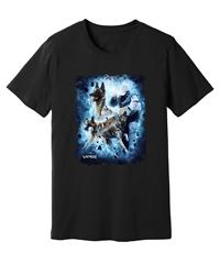 Viper - IPO - Malinois Blue - Black Shirt - Design 49