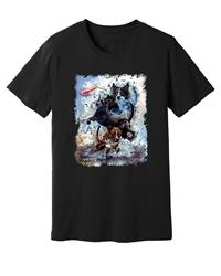 Viper - Dock Diving - Red Tug - Black Shirt - Design 52