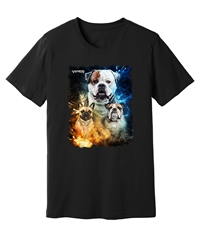 Viper - Bully - Blue & Orange - Black Shirt - Design 56