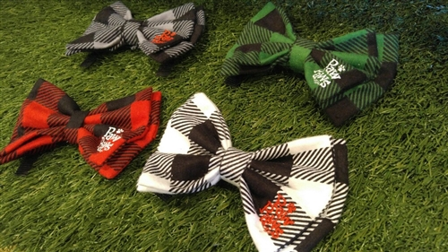 Buffalo Plaid Flannel Bow Ties