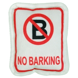 No Barking Plush Dog Toy