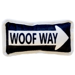 Woof Way Plush Dog Toy