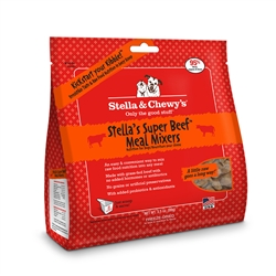 Stella & Chewys-Freeze-Dried Stella's Super Beef Meal Mixers for Dogs - 3.5oz