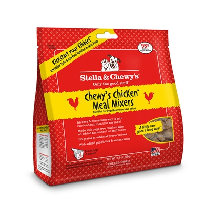 Stella & Chewys-Freeze-Dried Chewy's Chicken Meal Mixers for Dogs - 3.5oz